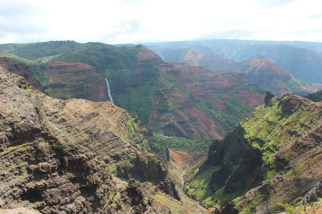 Visiting Waimea Canyon during month four of digital nomad life