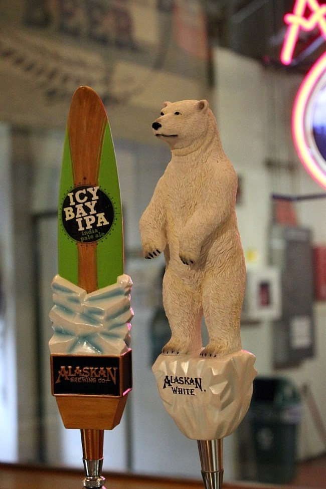 Alaskan Brewing Company - a great activity in Juneau in the rain