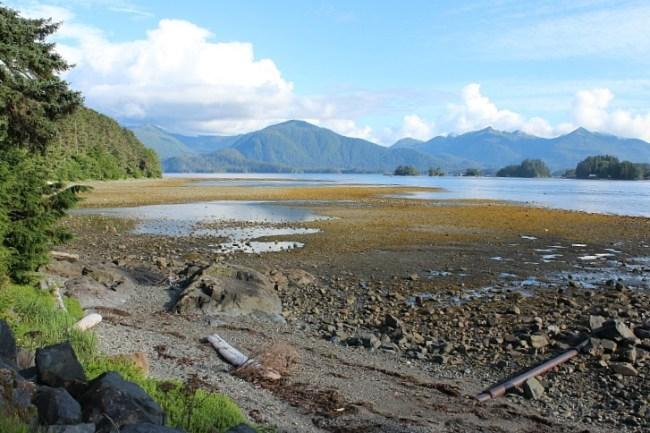 Beautiful Sitka Alaska coastline