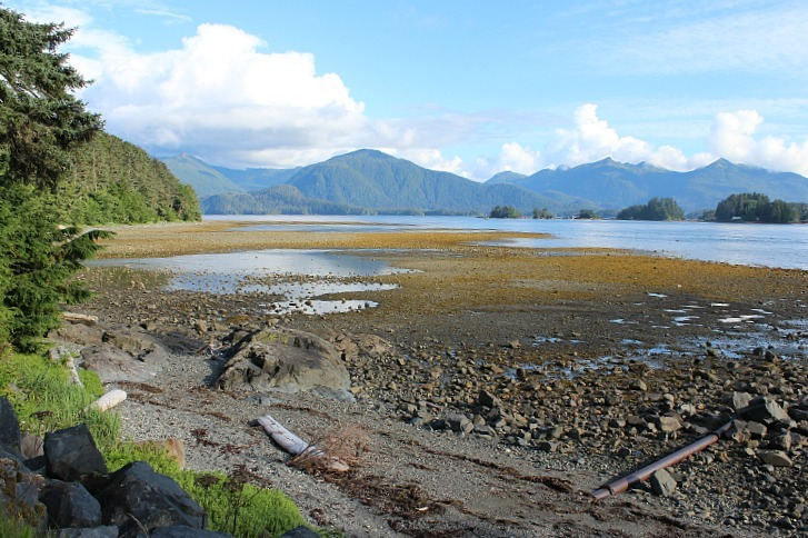 Exploring the beautiful Sitka coastline - part of my Summer in Alaska Itinerary