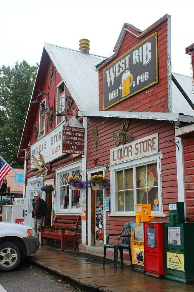 Nagley's Store in Talkeetna Alaska