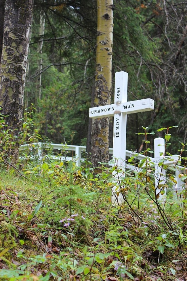 Village Cemetery in Field, BC