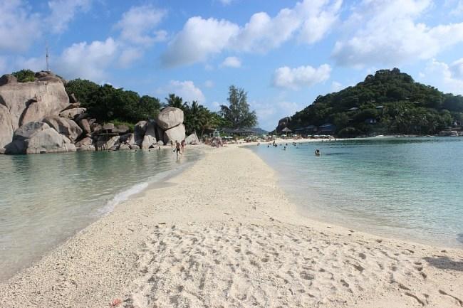 The beautiful Koh Nang Yuan during month six of digital nomad life