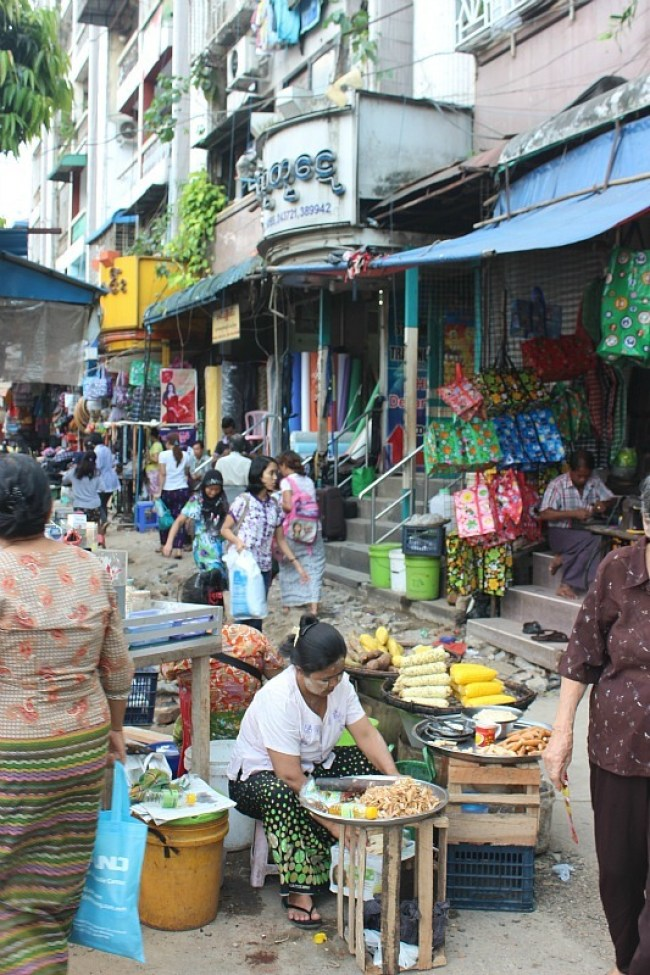 Exploring the streets of Yangon during month six of digital nomad life