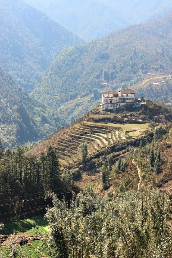 Hiking the Rice terraces in Sapa during month eight of digital nomad life