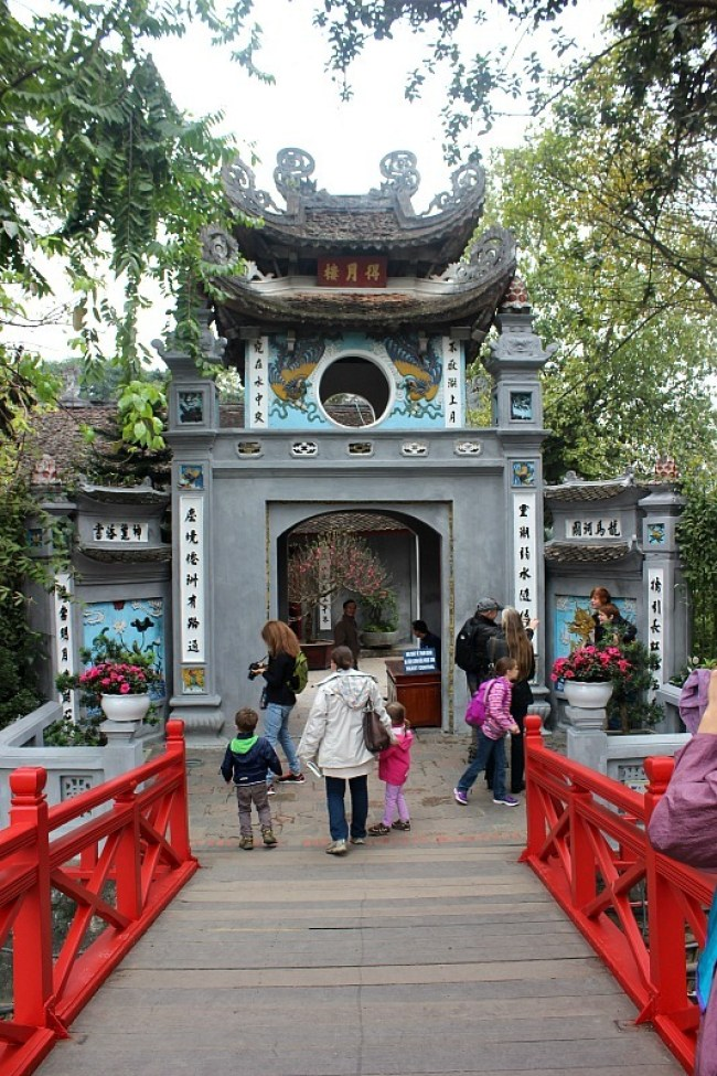 Temple in Hanoi during month eight of digital nomad life