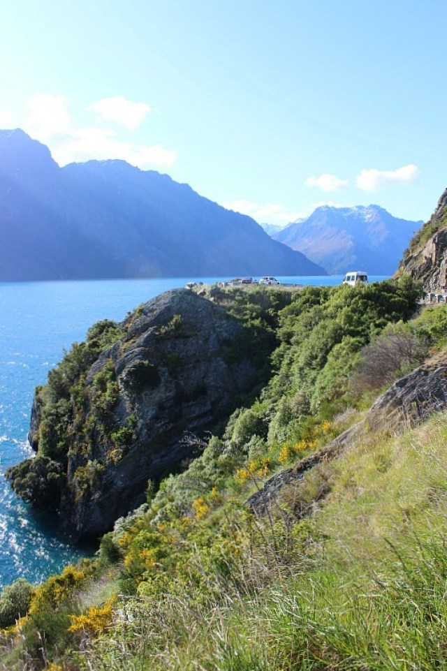 Lake Wakatipu on the way back to Queenstown after finishing the Kepler Track