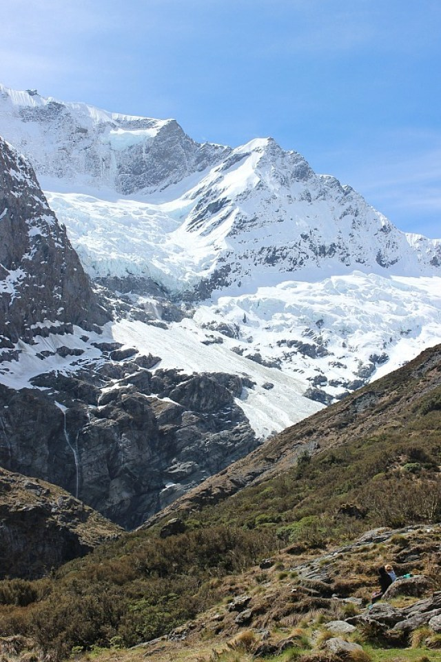 Mountains of Mount Aspiring National Park