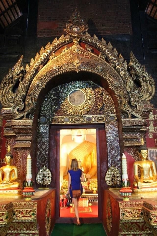 Chiang Mai temple entrance