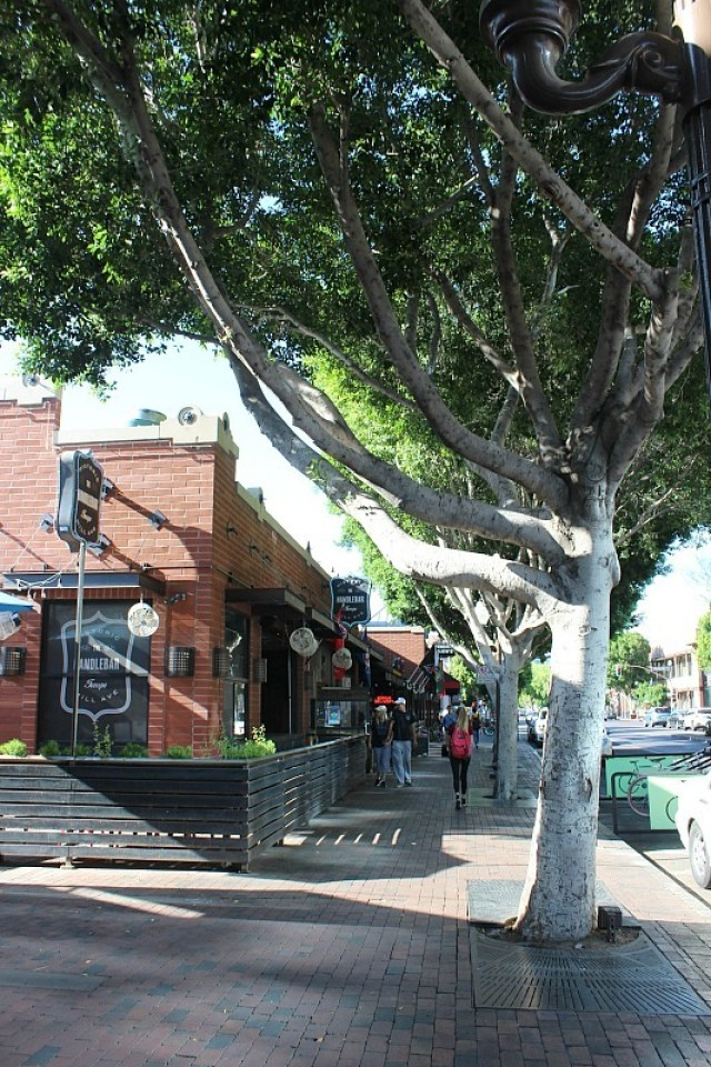 Exploring Mill Avenue in Tempe, Arizona during month 10 of digital nomad life