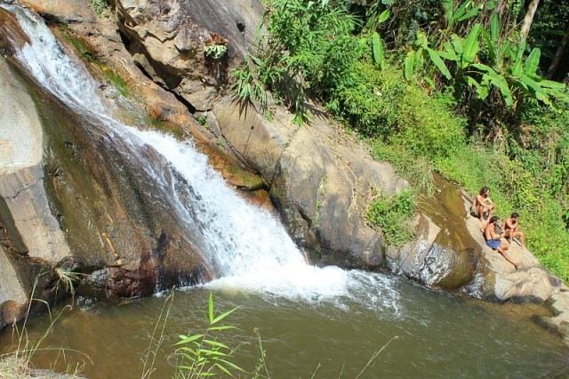 Mo Paeng waterfall near Pai, Thailand