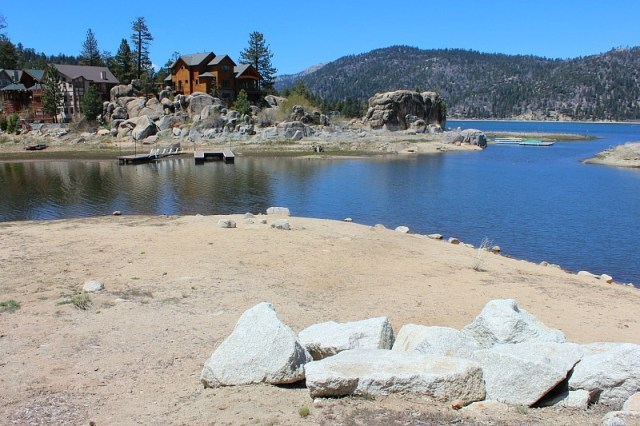 Big Bear Lake during month 11 of digital nomad life