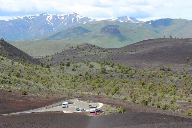 Craters of the Moon National Monument during month 11 of digital nomad life