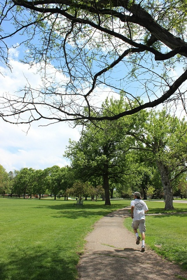Wash Park in Denver, visited during month 12 of digital nomad life