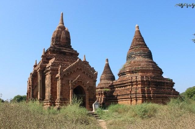 The incredible Bagan pagodas