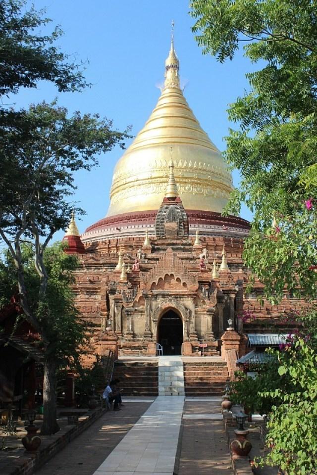 Dhammayazika Paya - a beautiful Bagan pagoda