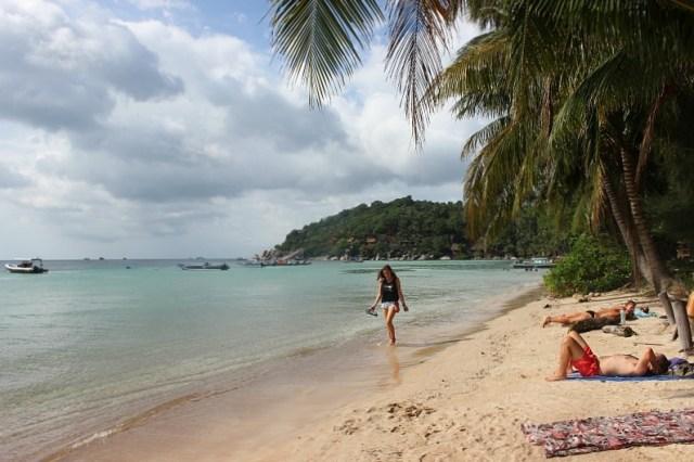 Sairee beach on Koh Tao