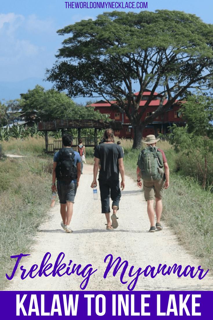 Trekking Kalaw to Inle Lake in Myanmar