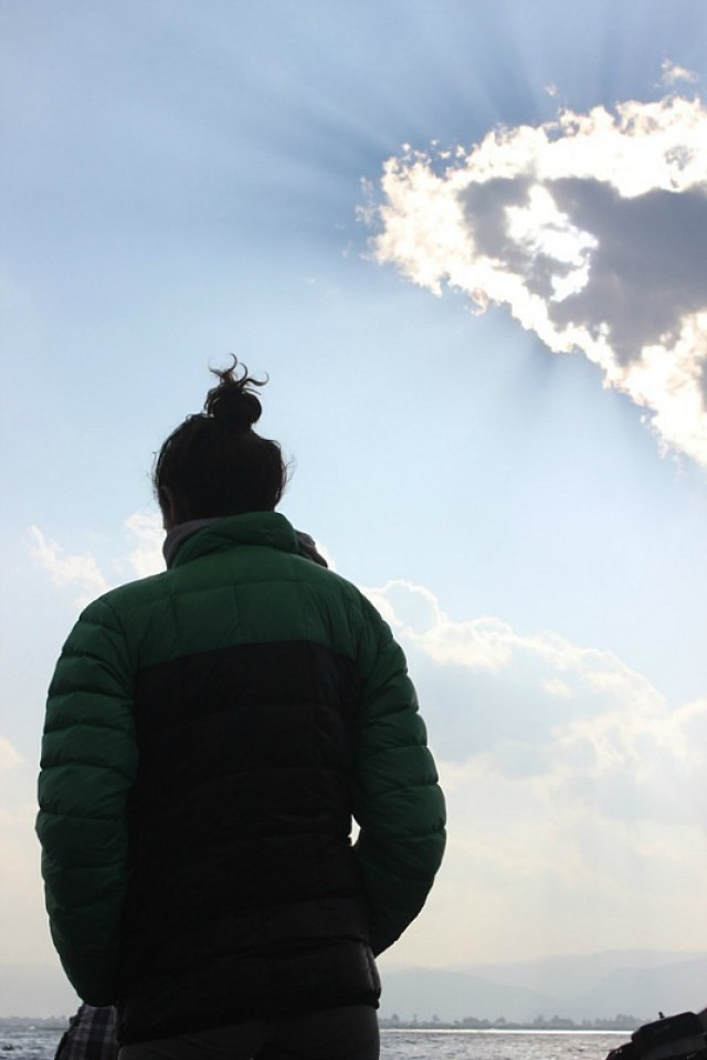 Contemplating life on Inle Lake
