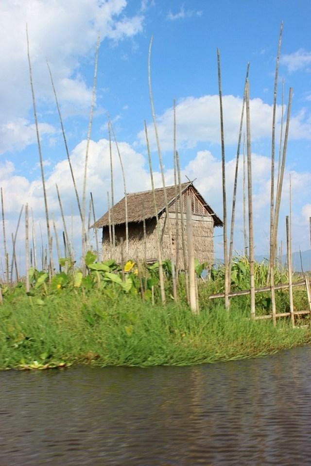 Inle Lake house