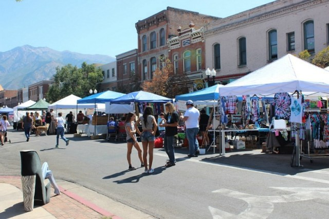 Visiting the Ogden Farmer's Market during month 15 of digital nomad life