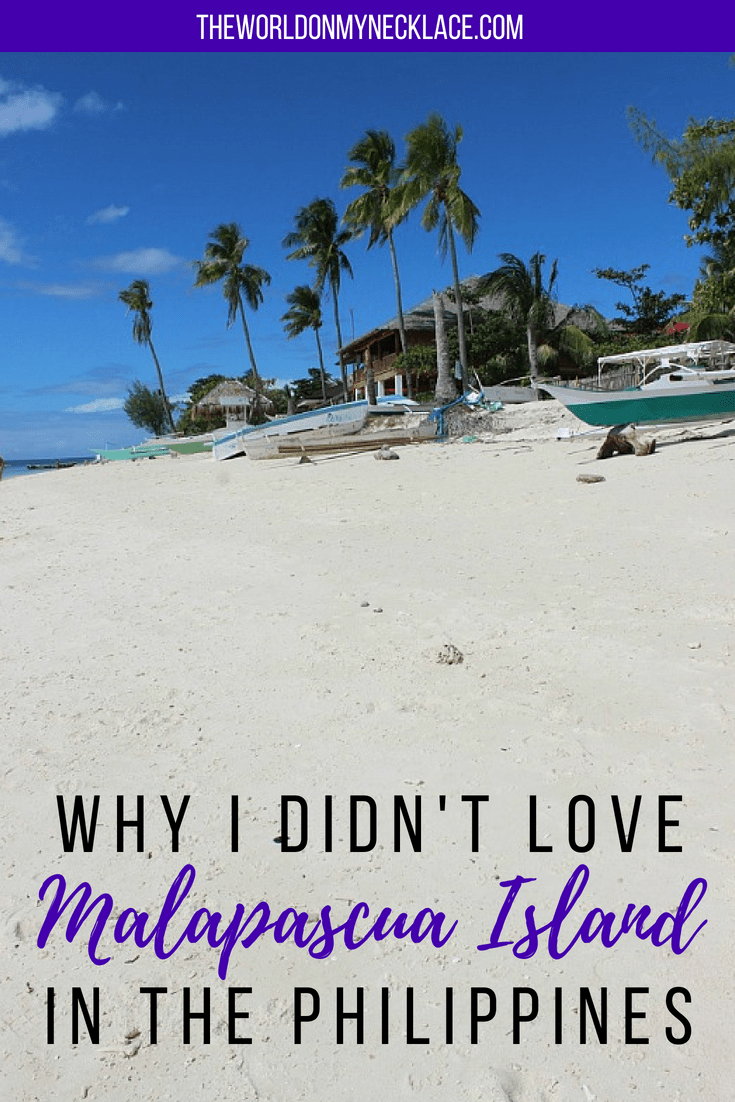 Why I Didn't Love Malapascua Island in the Philippines