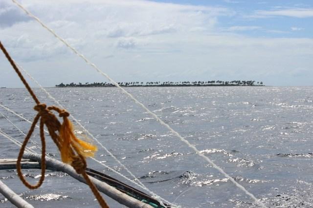 first-glimpse-of Kalanggaman Island