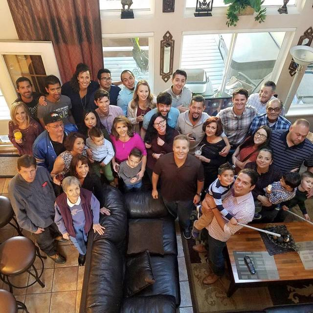 Thanksgiving with my American family during month eighteen of digital nomad life
