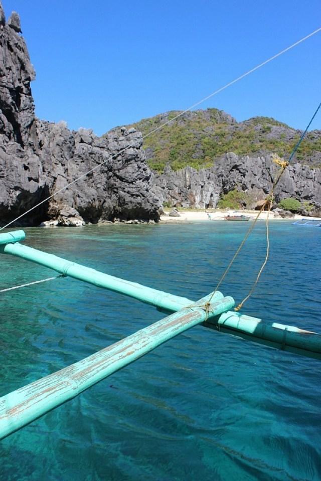 Lagoon stop on El Nido island hopping tour A