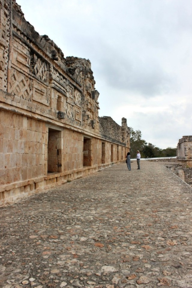 Uxmal ruins in Mexico - visited during month twenty of digital nomad life