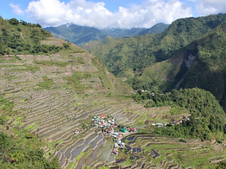 Beautiful Batad - The World on my Necklace