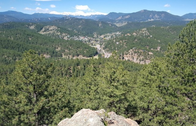 Hiking in the front range near Denver during month twenty three of digital nomad life