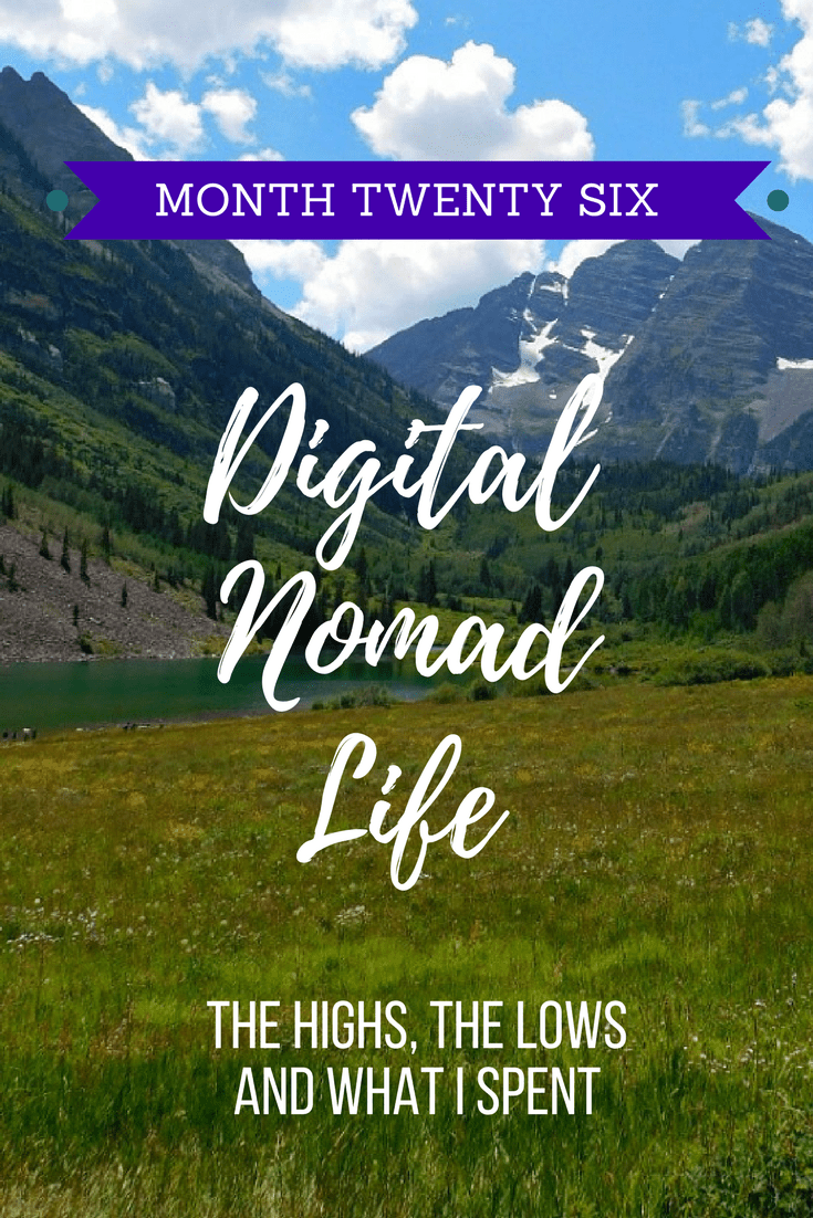 Month Twenty Six: Digital Nomad Life