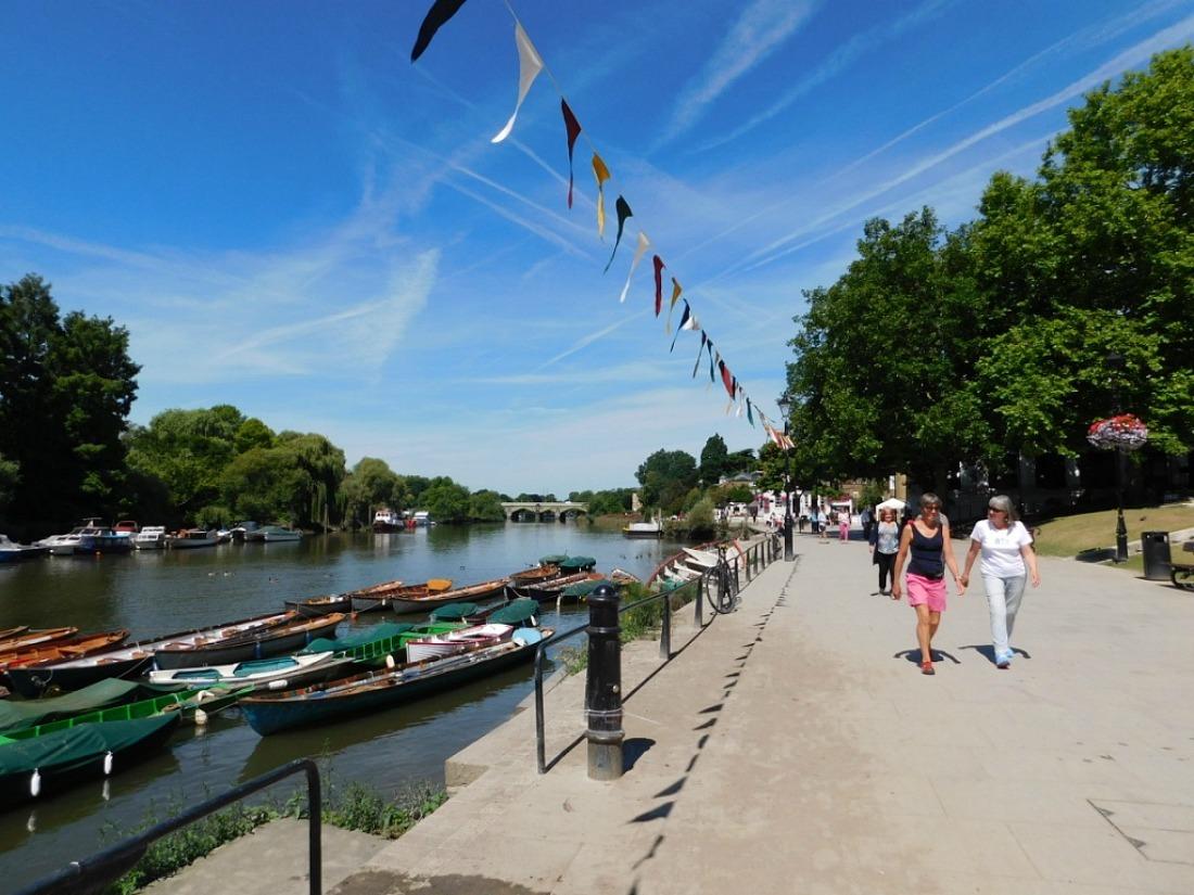 Sunny Richmond riverside, London UK