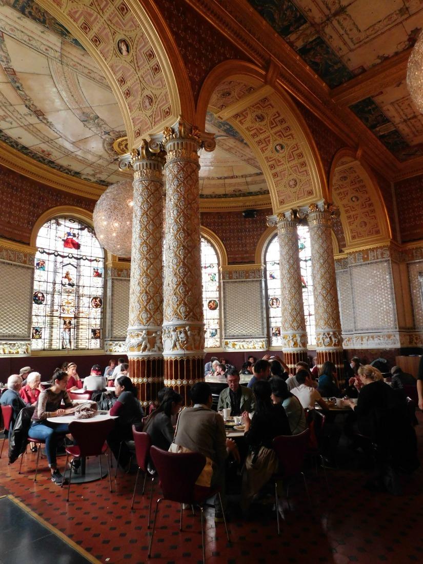 The V&A Museum Cafe - visited during Month Twenty Six of Digital Nomad Life