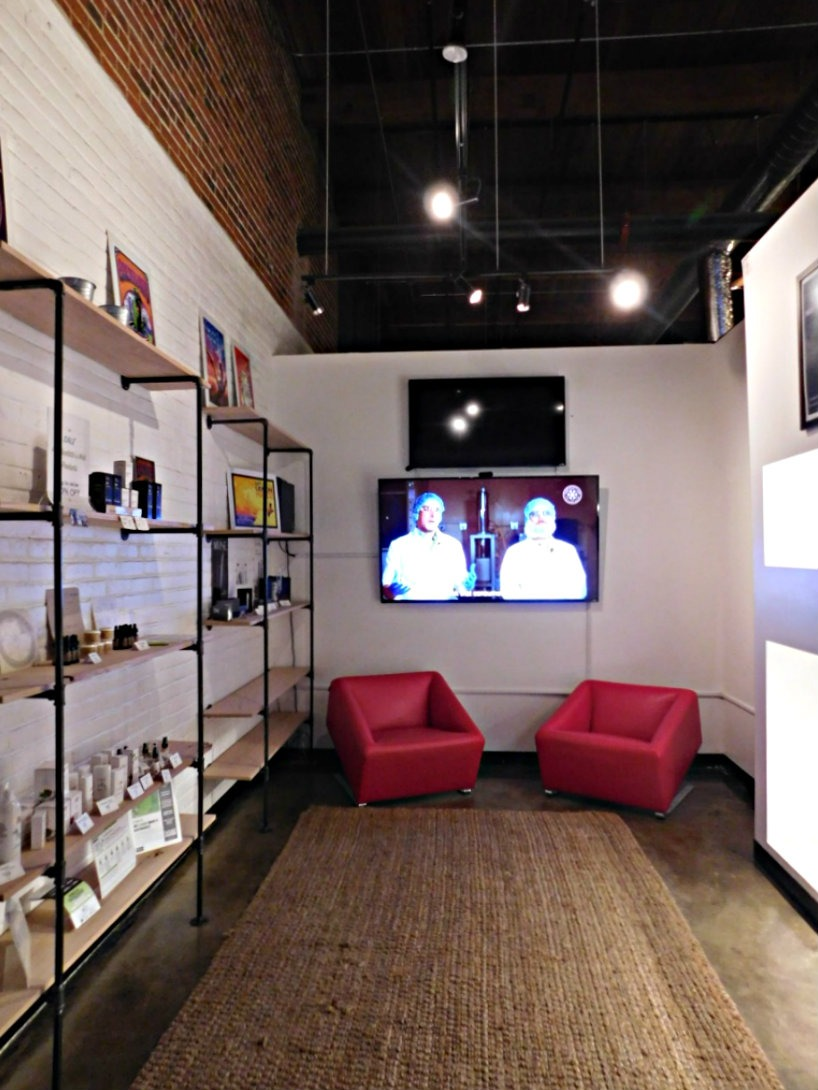 The small store at My 420 Tours - the leaders of Cannabis Tourism in Denver