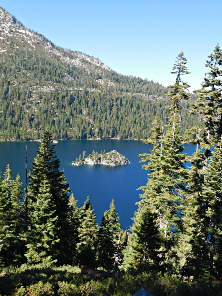 Visiting Lake Tahoe for the first time during Month Twenty Eight of Digital Nomad Life