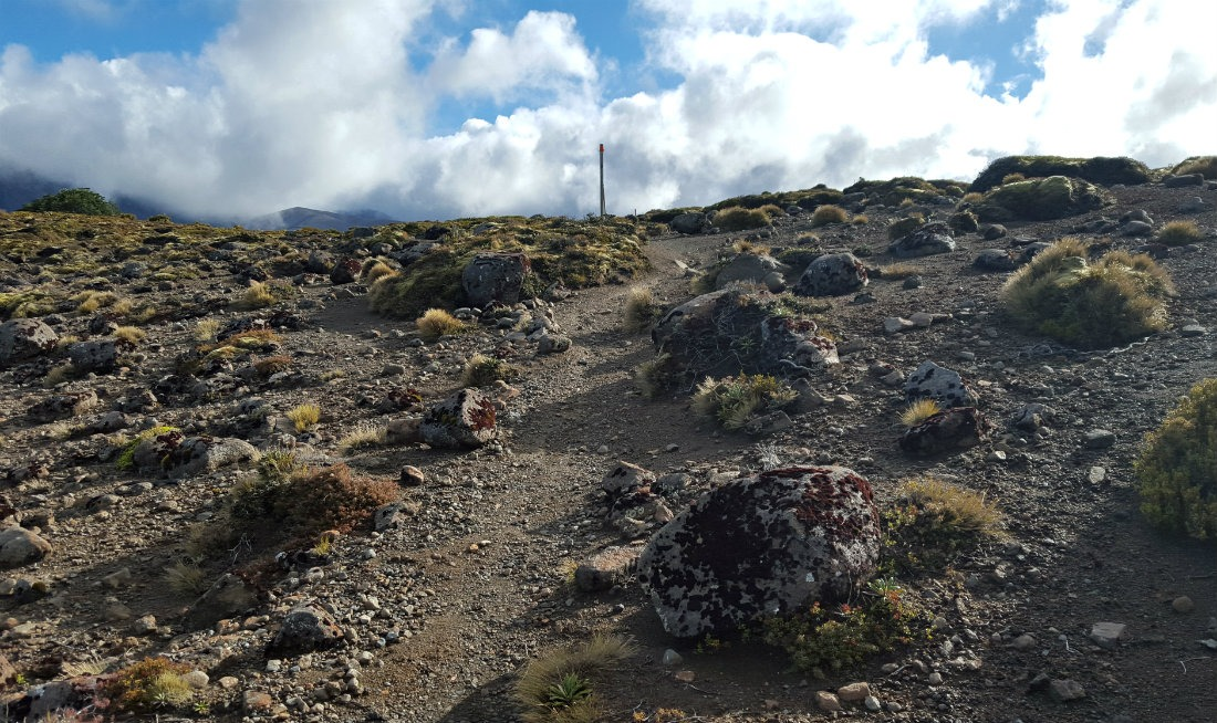 Beautiful views on the Tongariro Northern Circuit