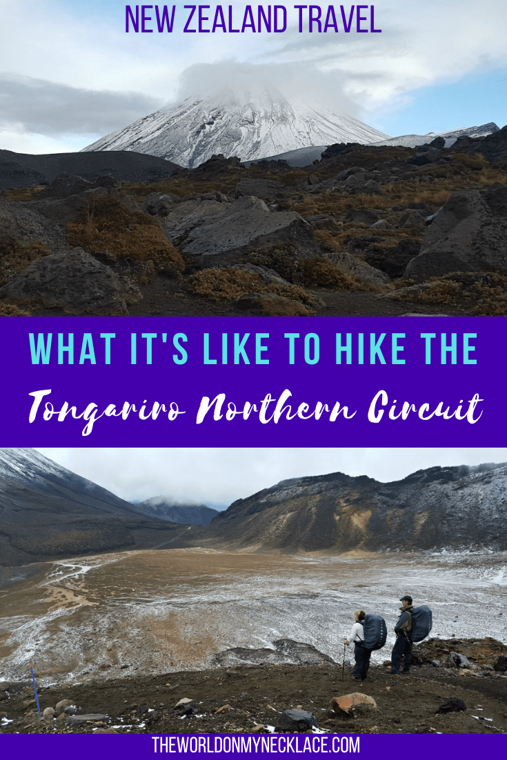 What it's like to Hike the Tongariro Northern Circuit