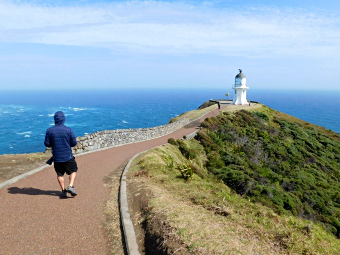 Hiking to Cape Reinga during month thirty one of Digital Nomad Life
