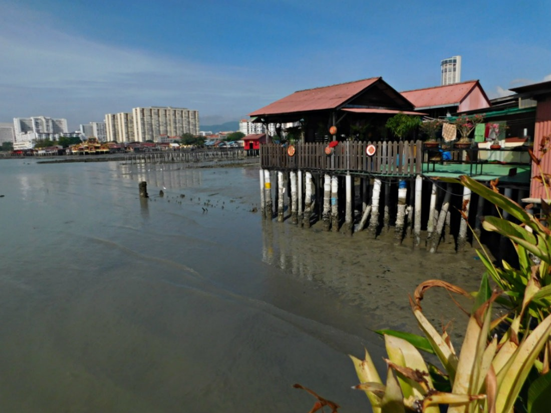 Checking out Chew Jetty in Georgetown, Penang during month thirty two and thirty three of Digital Nomad Life