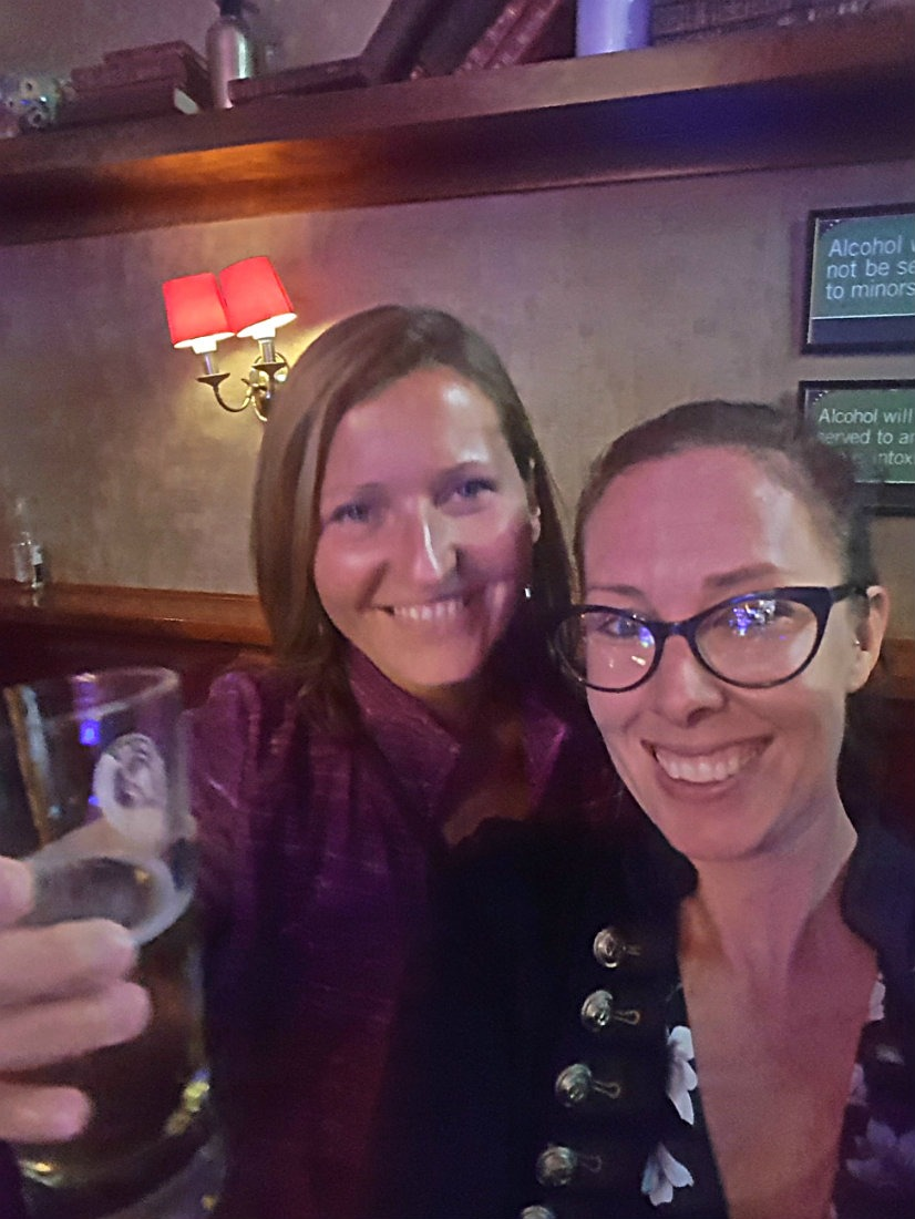 A fun night out in Auckland with a new friend was a highlight of Digital Nomad Life Month Thirty Four