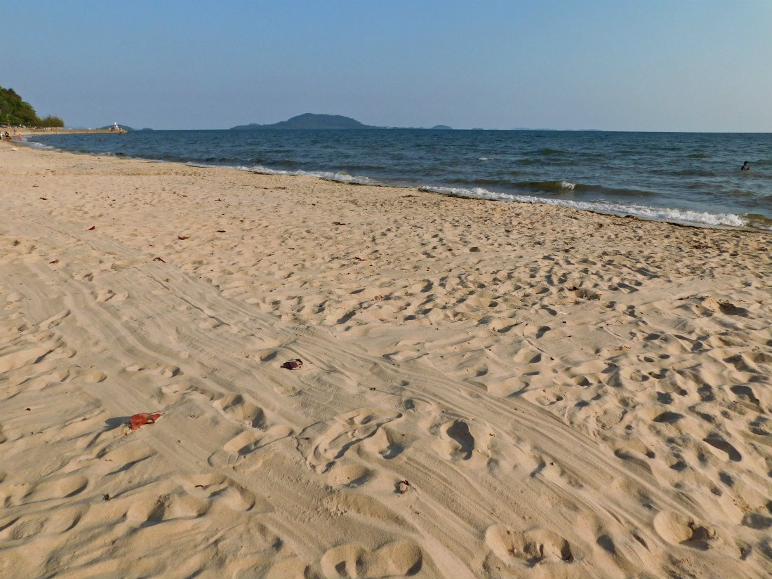 Hanging out on Kep Beach - one of the best things to do in Kampot