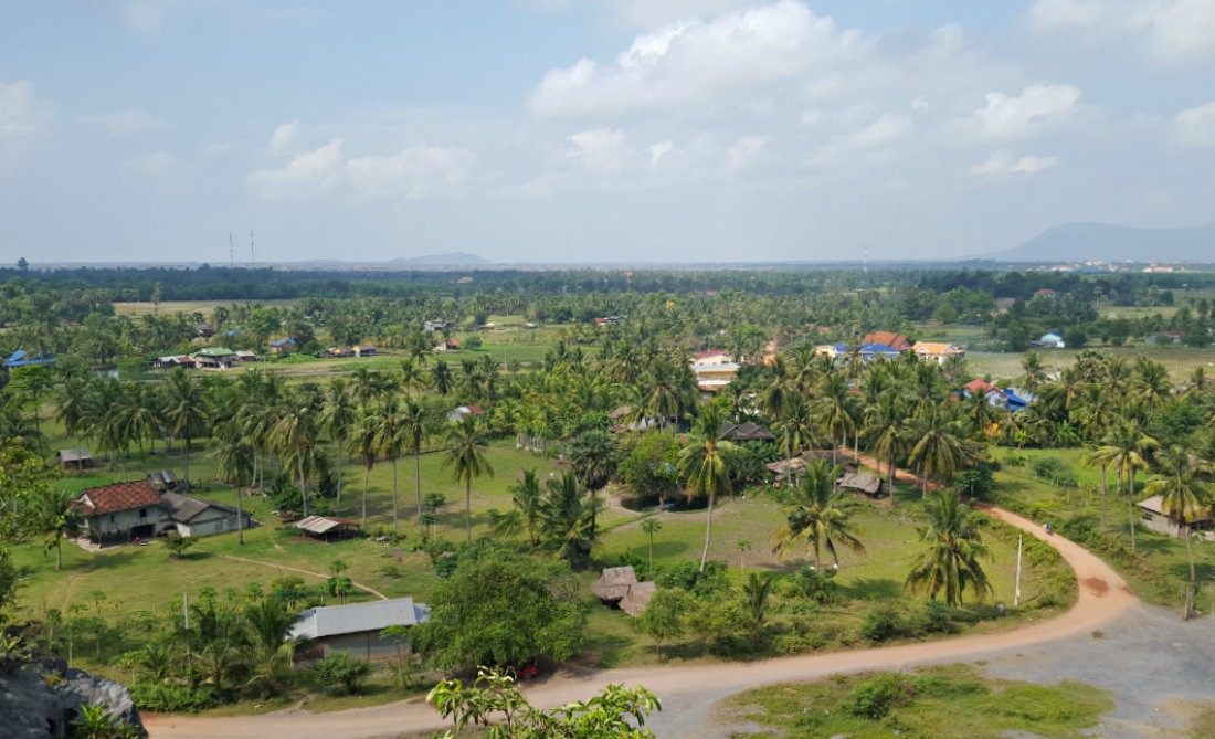Discovering the beautiful countryside - one of the best things to do in Kampot
