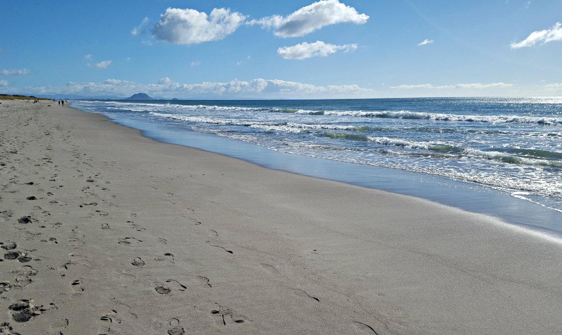 Papamoa Beach in New Zealand