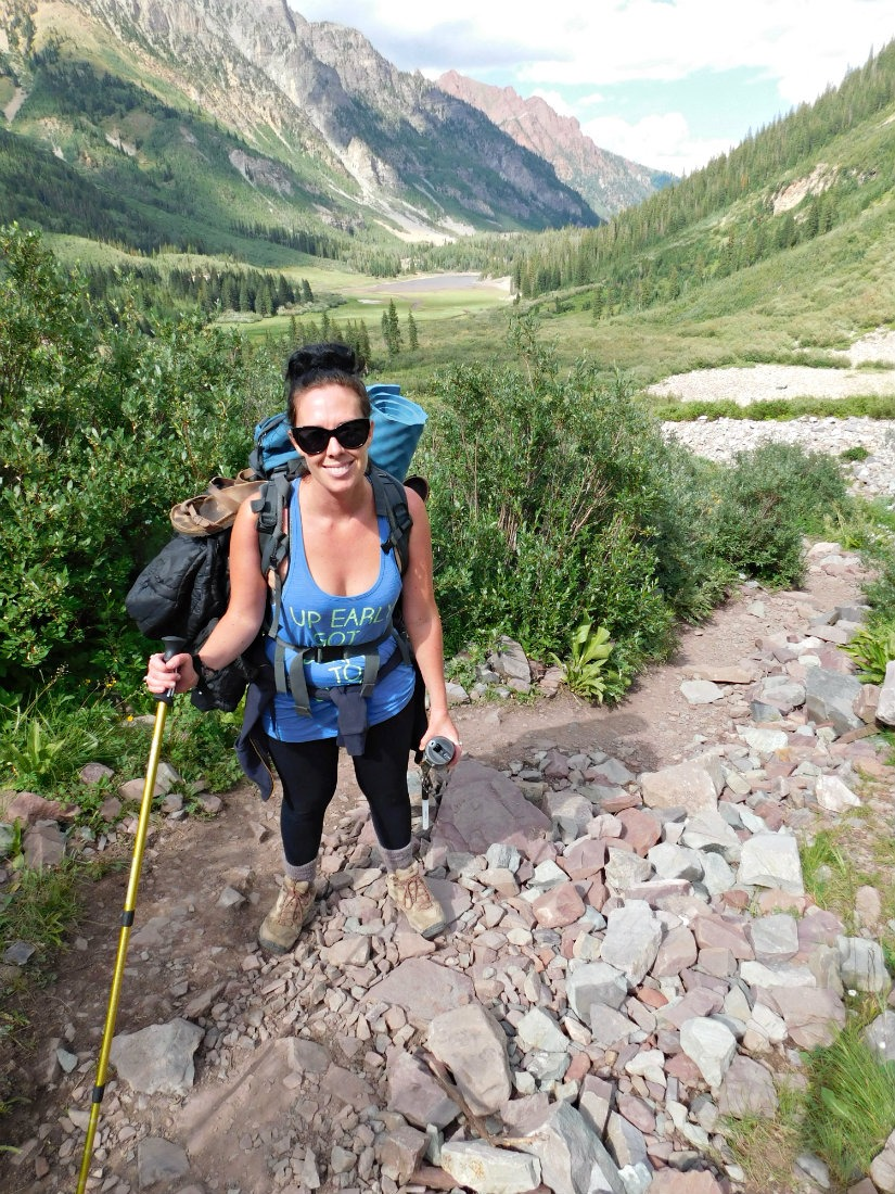 Hiking from Aspen to Crested Butte in Maroon Bells-Snowmass Wilderness