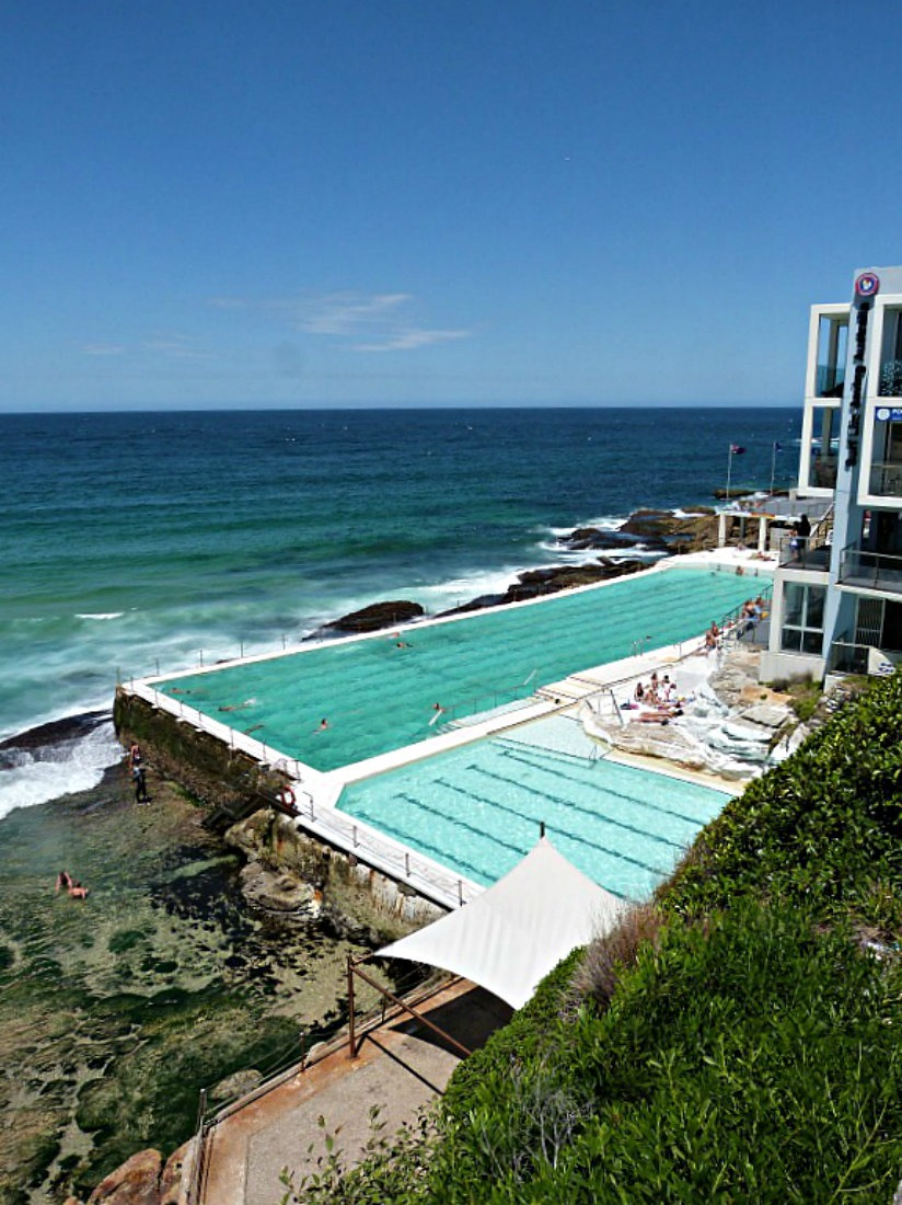 Bondi Beach Icebergs pool in Sydney