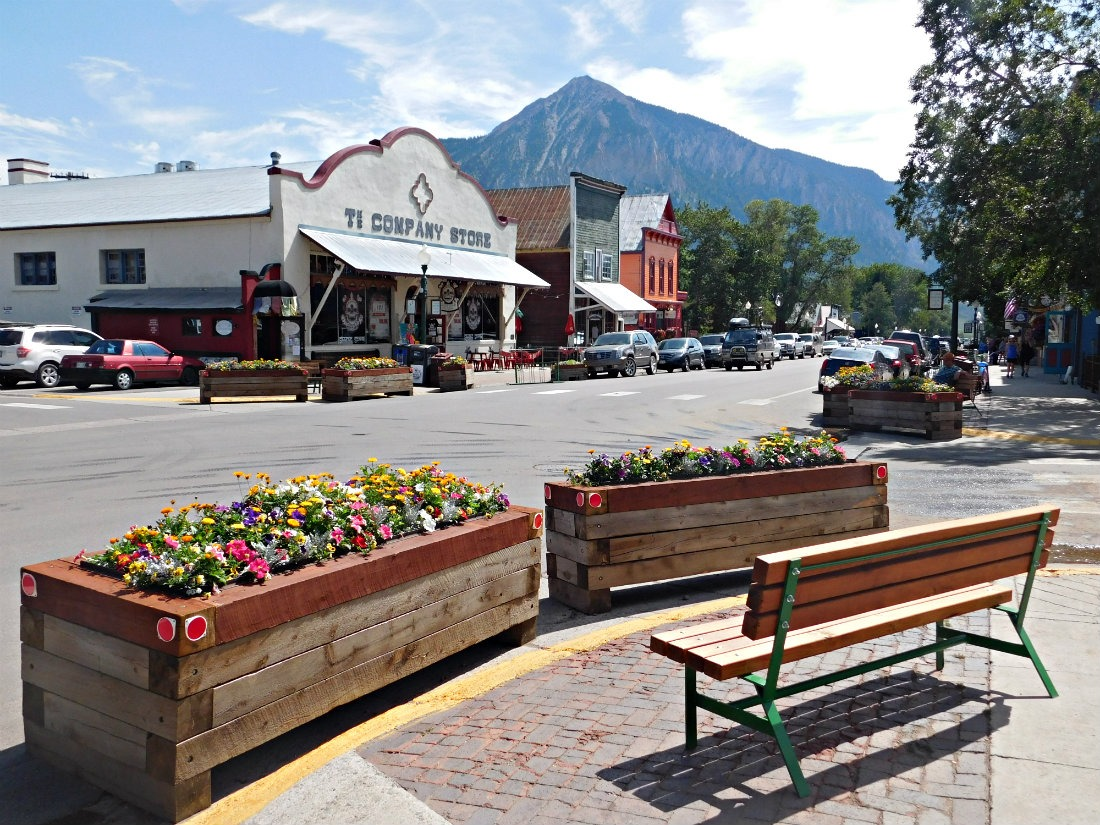 Downtown Crested Butte in Colorado