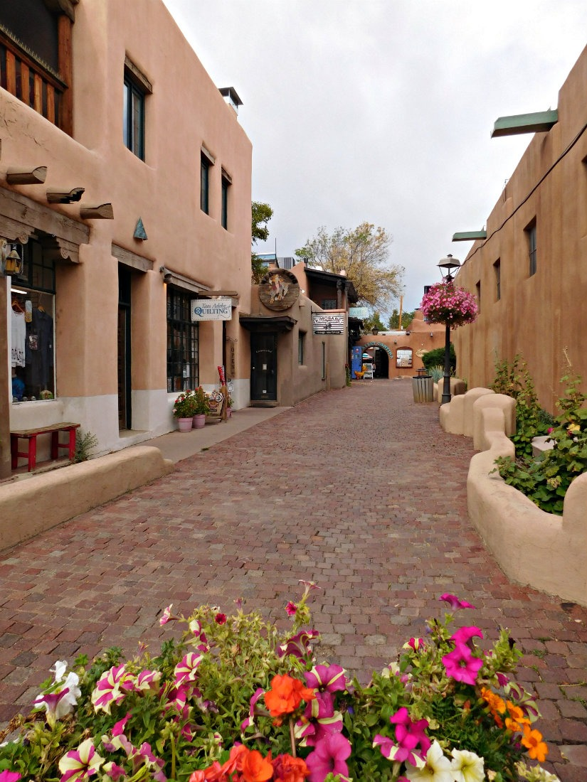 Visiting Taos Plaza in New Mexico was a highlight of month forty of Digital Nomad Life