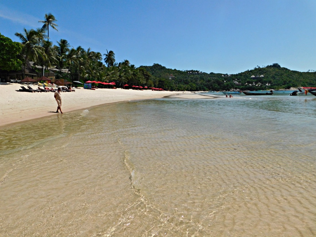 Beautiful Thong Nai Pan Noi beach on Koh Phangan, Thailand